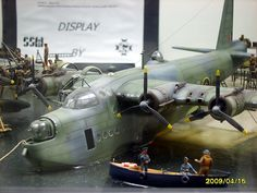 Short Sunderland Mk.III 1/72 Scale Model Diorama