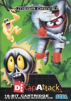DecapAttack, Sega Genesis