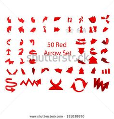 50 set of red arrows  3d, arrow, art, background, blank, business, choice, circle, circular, collection, color, communication, cursor, decoration, design, direction, down, downwards, element, empty, environment, glossy, graphic, icon, illustration, isolated, modern, motion, move, object, perspective, recycle, red, reflective, ribbon, set, shadow, shape, shiny, sign, success, symbol, target, technology, up, upwards, vector, web, white