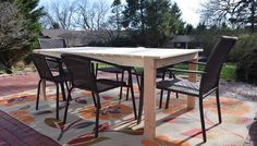 Image result for DIY patio table