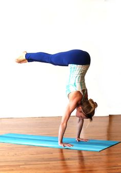 L-Handstand - **Your Dose of Daily Yoga Inspiration** #yoga #yogi #yogaquotes #meditation #inspiration