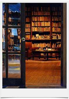 """""""A book store at the Ciudad Vieja, Montevideo."""" - I want to own a book store one day...and I want it to look like this!"""