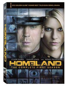 Homeland saison 1 en dvd/blu-ray