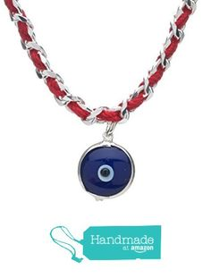 Red String Lucky Blue Nazar Eye Bracelet on Kabbalah-Inspired Style in Sterling Silver for Protection and Good Luck from Alef Bet by Paula | Alef Bet Jewelry https://www.amazon.com/dp/B01M58OBVK/ref=hnd_sw_r_pi_awdo_fHZhzbBWSR9PQ #handmadeatamazon