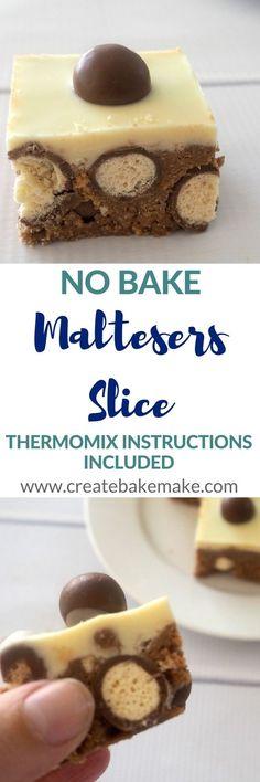 No Bake Maltesers Slice Recipe