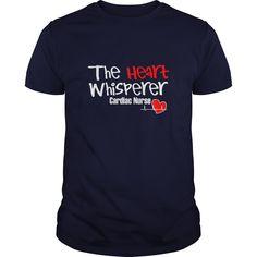The Heart Whisperer Cardiac Nurse Great Gift For A Cardiac Nurse T-Shirts, Hoodies. GET IT ==► https://www.sunfrog.com/Jobs/The-Heart-Whisperer-Cardiac-Nurse-Great-Gift-For-A-Cardiac-Nurse-Navy-Blue-Guys.html?41382