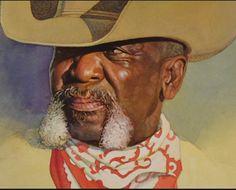 Thomas Blackshear, Define Art, Black Cowboys, Weird Science, Western Art, Black Art, Illustrators, Westerns, Horror