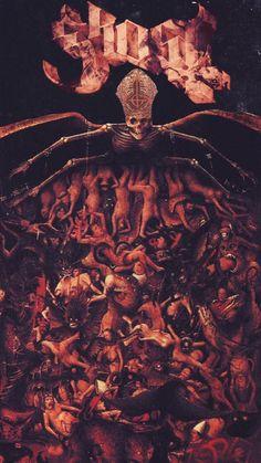 Ghost Papa, Ghost And Ghouls, Satanic Art, Poster Art, Artwork, Dark Art, Pictures, Art Films, Music Art