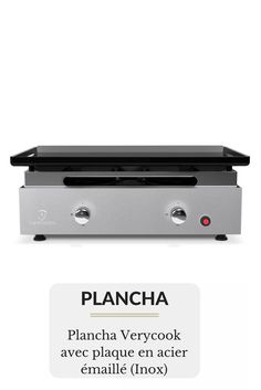 Plancha Verycook avec plaque en acier émaillé Stapler, Plaque, Office Supplies, Planks, Steel, Kitchens, Enamels