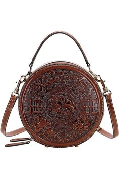(This is an affiliate pin) PIJUSHI Genuine Leather Handbags for Women Designer Crossbody Bags for Women Floral Handbags Ladies Top Handle Shoulder Purse Small Shoulder Bag, Shoulder Purse, Shoulder Handbags, Designer Crossbody Bags, Leather Handbags, Brown Handbags, Cross Body Handbags, Designing Women, Fashion Bags