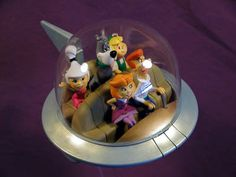Jetsons The Jetsons, Figure Model, Model Kits, Caricature, Snow Globes, Movie Tv, Sculptures, Childhood, Models