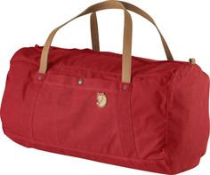 """Fjallraven Large Duffel No.4 Duffel Bag. Another stylish, functional and durable bag from the Swedish brand """"Fjallraven"""" that will last a lifetime, and only look more beautiful with age."""