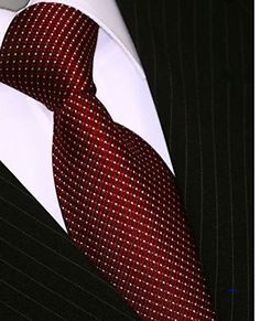 Evalent Men 100% Silk Dot Tie Woven Necktie Gift Box Deep Red  http://www.yourneckties.com/evalent-men-100-silk-dot-tie-woven-necktie-gift-box-deep-red/