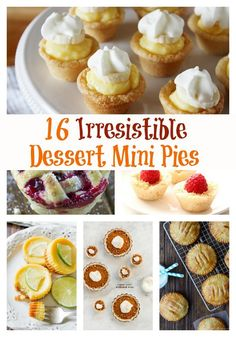 No Bake Cheesecake Bites - These easy party desserts are such easy desserts to make you'll want to serve them at every get-together. No bake cheesecake bites can be made in just 20 minutes but will disappear even faster so be sure you make plenty! Parfait Desserts, Mini Desserts, Easy To Make Desserts, Rainbow Desserts, Easy Sweets, Small Desserts, Mini Cherry Pies, Mini Pumpkin Pies, Pumpkin Pie Recipes