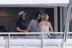 Harry Styles and Kendall Jenner pictured kissing and getting handsy on yacht trip