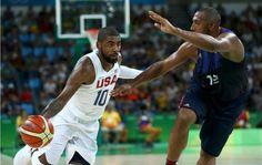(M): Les Bleus battus de peu par Team USA