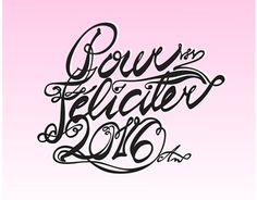by Aneta Valentova - New Year lettering
