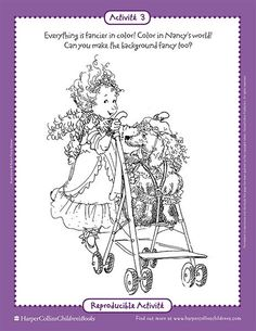 Found On Bing From Www Pinterest Com Fancy Nancy Coloring Sheets Printable Coloring Sheets