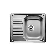 Blanco Tipo 45 S Mini Küchenspüle, Edelstahl Naturfinish, 516524 - ozil vergleiche online Blanco Kitchen Sinks, Kitchen Sink Sizes, Single Bowl Kitchen Sink, Kitchen Taps, Buy Kitchen, Portable Sink, How To Wash Vegetables, Sweet Home Collection, Stainless Steel Kitchen