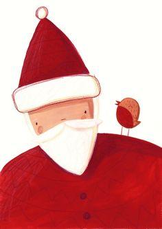 Christmas Cards II by Monika Filipina Trzpil, via Behance