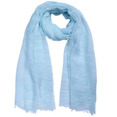 Basic blue scarf for any occasion. Yehwang!