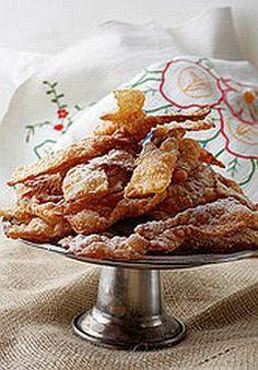 Croatian Krostule Recipe - Recipe for Croatian Krostule or Angel Wings