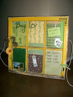 Old Yellow Baylor Window!