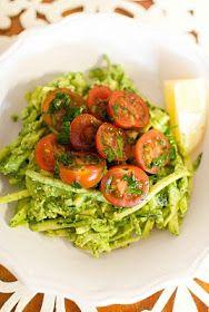 Scandi Home: Zucchini with Avocado Pesto