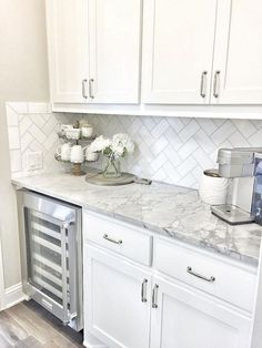 Supreme Kitchen Remodeling Choosing Your New Kitchen Countertops Ideas. Mind Blowing Kitchen Remodeling Choosing Your New Kitchen Countertops Ideas. Farmhouse Kitchen Cabinets, Kitchen Redo, New Kitchen, Kitchen Ideas, Kitchen Designs, Pantry Ideas, Kitchen Cabinetry, Kitchen Small, Awesome Kitchen