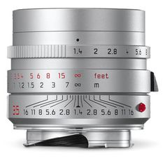 A popular wide-angle lens for the Leica M rangefinder system, the silver Summilux-M ASPH Lens from Leica provides high quality optics for excellent performance in a variety of applications. Leica Digital Camera, Digital Slr, Leica M10, Fixed Lens, Gopro Photography, Landscape Photography, Portrait Photography, Wedding Photography, Prime Lens