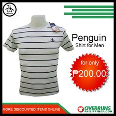 anable items in our large selection at OverrunsPhilippines. Shop now and get big discounts! Men's Shirts, Casual Shirts, Fashion Bazaar, Penguin T Shirt, Penguins, Latest Trends, Shop Now, Comfy, Shopping