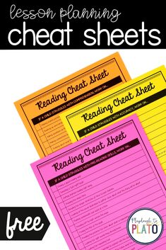 Reading cheat sheets that will make planning individual student reading plans a breeze. If you've ever wondered how to help your struggling readers, you need to check out this resource. #kindergarten #prek #preschool #reading #teachingreading Reading Groups, Student Reading, Kindergarten Reading, Teaching Reading, Teaching Tools, Reading Lessons, Reading Skills, Playdough To Plato, Reading Comprehension Strategies