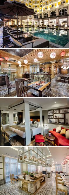 Verblijf in het Royal Hoi An Hotel in Vietnam en geniet van alle luxe die je tegemoet komt. Dit vijfsterren hotel beschikt o.a. over een zwembad mét cocktailbar, riante kamers en meerdere restaurants. Kom hier helemaal tot rust en geniet van de prachtige omgeving, die niet voor niets op de UNESCO Werelderfgoedlijst staat!