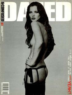 Kate Moss, Dazed & Confused, February 1999, photographed by Rankin. http://www.dazeddigital.com/fashion/article/18032/1/top-10-early-kate-moss-moments