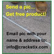 Crack Stix Permanent Concrete Joint Filler is the ONLY permanent joint filler you can apply yourself! Concrete, Free