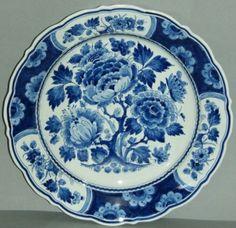 Delft Blue Wall Plate Porceleyne Fles Holland | eBay