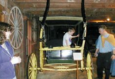 A child at the Mifflenburg Buggy Museum in PA see more at www.americanroads.net