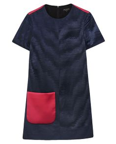 rag & bone Official Store, Morden Dress, dark navy fl, Womens : Ready to Wear : Dresses, W236311NC