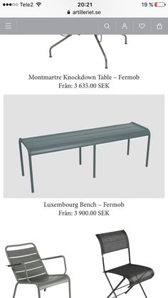 Bench, Table, Furniture, Home Decor, Decoration Home, Room Decor, Benches, Home Furniture, Interior Design