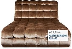 Oversized Tufted Chaise Longue