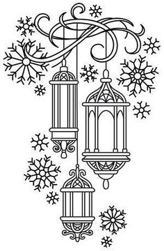Irresistible Embroidery Patterns, Designs and Ideas. Awe Inspiring Irresistible Embroidery Patterns, Designs and Ideas. Colouring Pages, Adult Coloring Pages, Coloring Books, Hand Embroidery Patterns, Embroidery Stitches, Embroidery Designs, Christmas Embroidery Patterns, Paper Embroidery, Christmas Colors