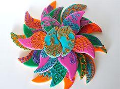 Sugar Bea's Blog: Paisley Mehndi Cookies {Krishna Wedding}