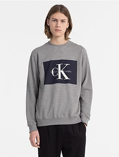 c2740592 14 Delightful CK images | Crew neck, A logo, Calvin klein jeans