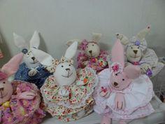 coelhas porta doces
