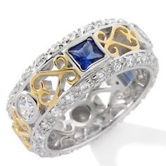 Image detail for -Hope Faith Miracles by Kristian Alfonso CZ and Simulated Sapphire ...