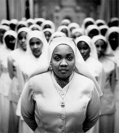 Ethel Shariff, Chicago, 1963 - by Gordon Parks    Black Muslims, 1963 - Archive - The Gordon Parks Foundation