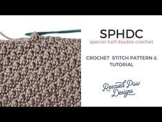 Special Half Double Crochet Stitch Tutorial for the Emily Crochet Beanie Crochet Beanie Pattern, Crochet Stitches Patterns, Stitch Patterns, Crochet Hats, Moss Stitch, Sewing Blogs, Stitch Kit, Half Double Crochet, Miffy
