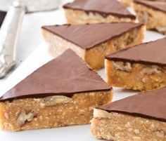 Delicious Nut Crunch: Another NESTLÉ Sweetened Condensed Milk recipe from our 100 years of Sweet Baking Memories Book. http://www.bakers-corner.co.nz/recipes/slices/delicious-nut-crunch/