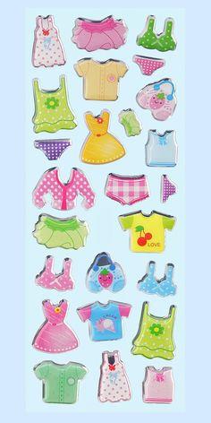Creapop Glossy-Stickers Fashion