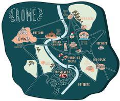 CARTE ROME - MILK WITH MINT